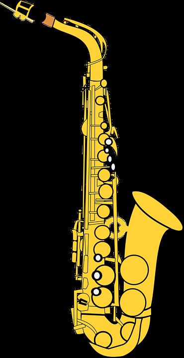 Alto, Alto Saxophone, Classical, Gold, Instrument, Jazz - Free PNG Saxophone