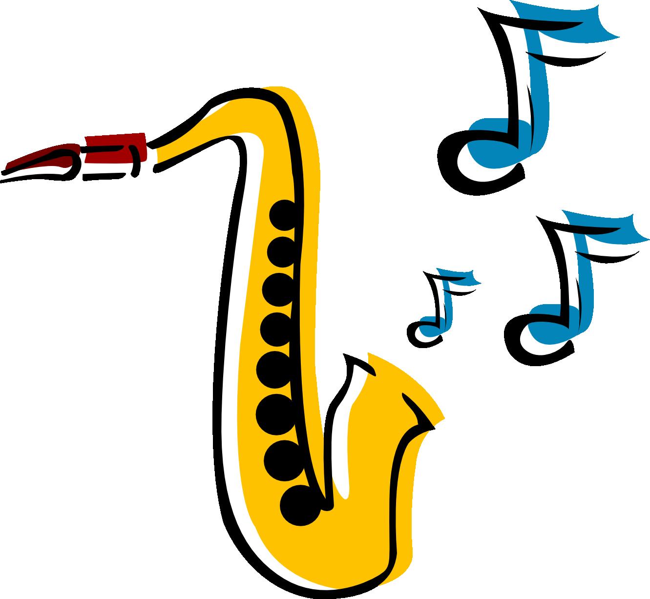 Saxophone clipart 5 - Free PNG Saxophone