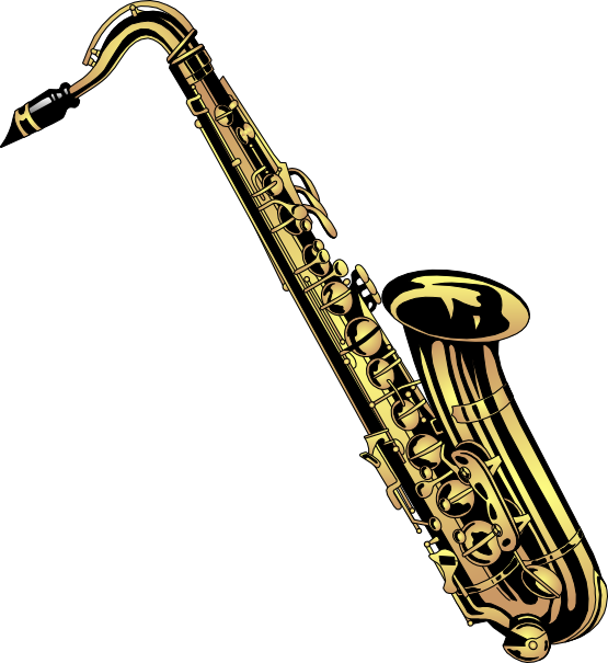 Saxophone free to use clipart - Free PNG Saxophone