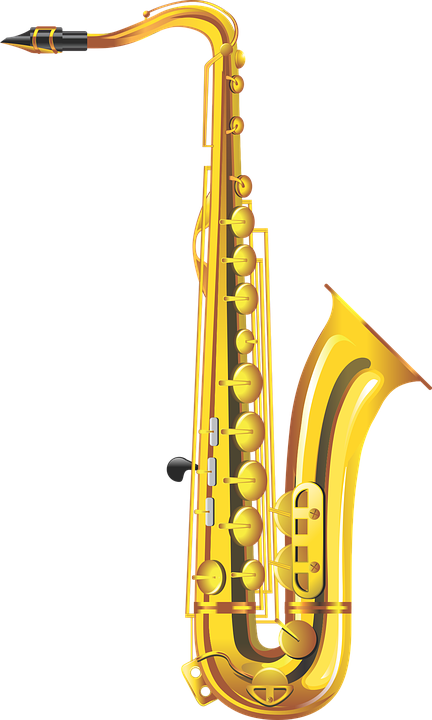 Saxophone, Musical Instrument, Wind Instruments, Music - Free PNG Saxophone