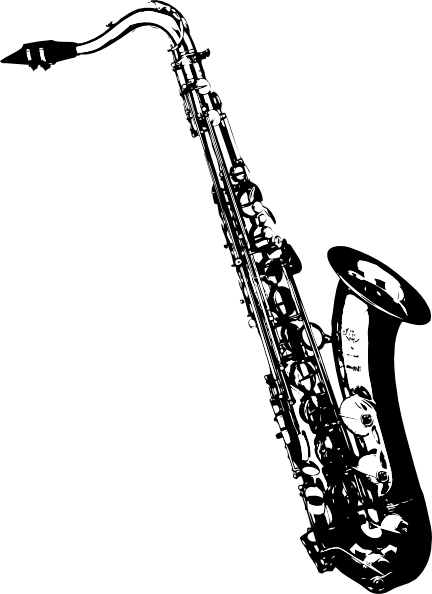Saxophone Player Clip Art Vector Online Royalty Free - ClipArt - Free PNG Saxophone