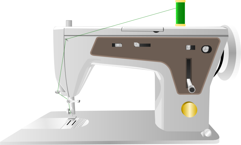 Free sewing machine clipart 1 page of public domain clip art - Free PNG Sewing Machine
