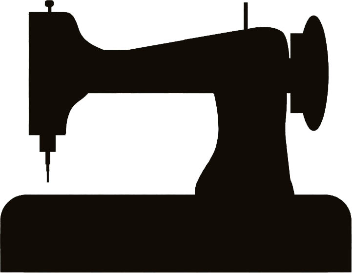 Vintage Sewing Machine Vector