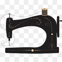 Sewing Machine Vector, Sewing Machine, Decoration, Material PNG and Vector - Free PNG Sewing Machine