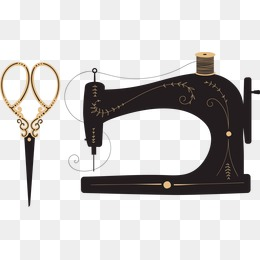 Sewing scissors, Sewing Machi