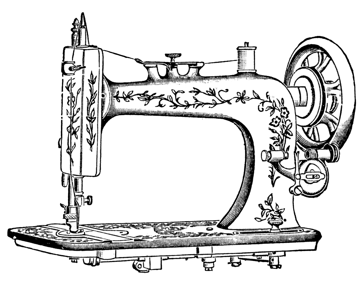Antique - Free PNG Sewing Notions