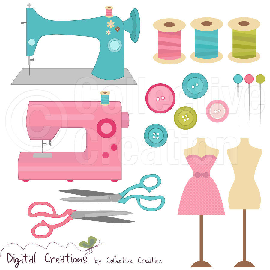 pin Machine clipart sewing supply #1 - Free PNG Sewing Notions