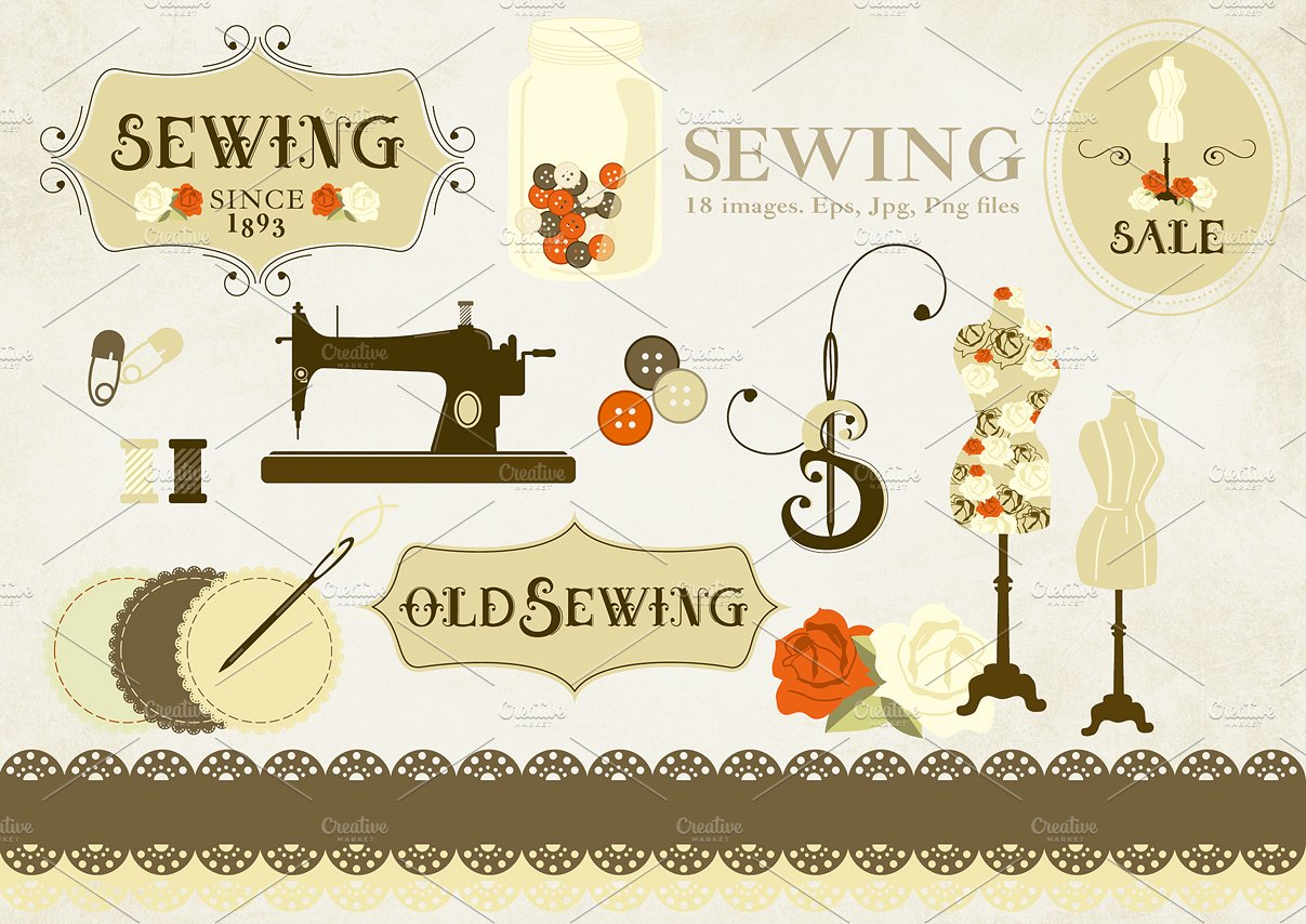 Sewing - Free PNG Sewing Notions