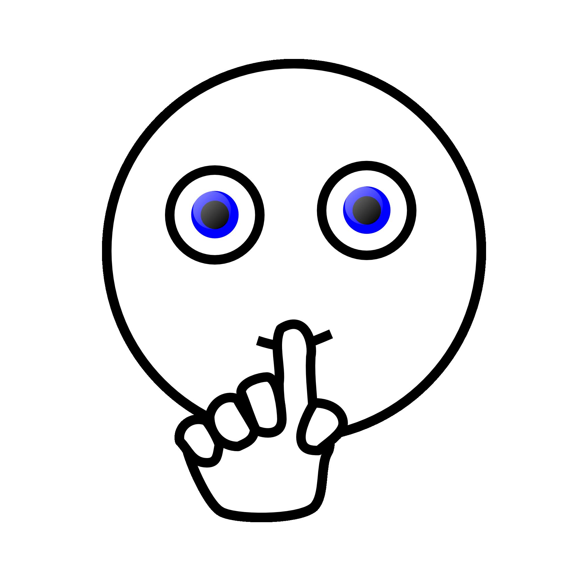Shh Clipart - Free PNG Shhh Quiet