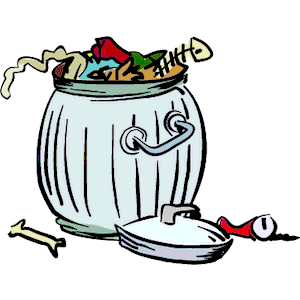 Smelly garbage clipart - Free PNG Smelly