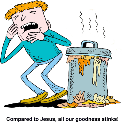 Stinky Trash Clipart - Free PNG Smelly