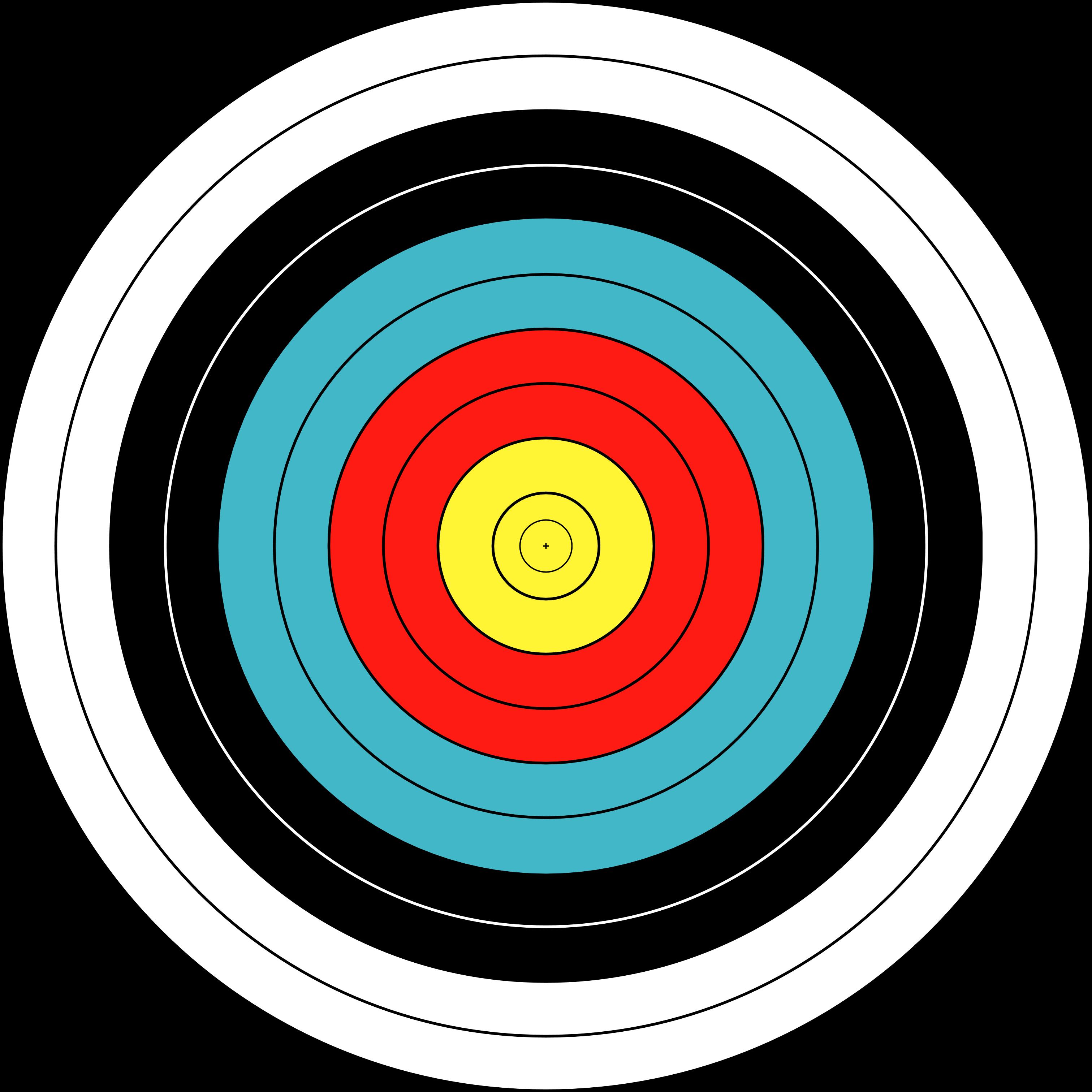 Bullseye Detection   Chmod U - Free PNG Target Bullseye