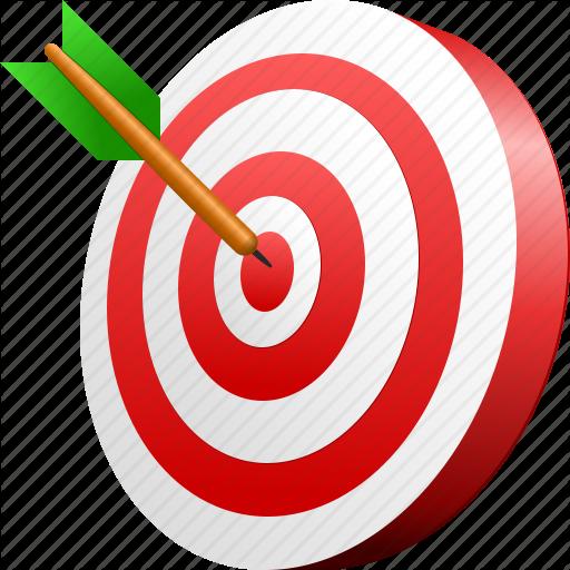 Download PNG image - Target Png Image - Free PNG Target Bullseye