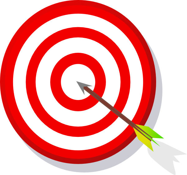 Download this image as: - Free PNG Target Bullseye