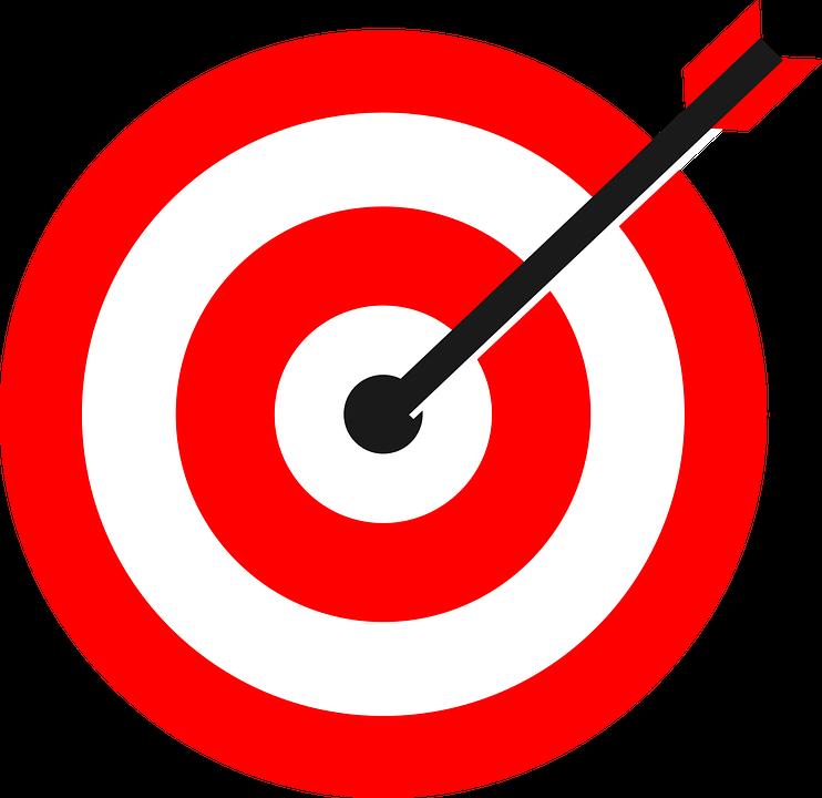 aim, bullseye, circle, goal,