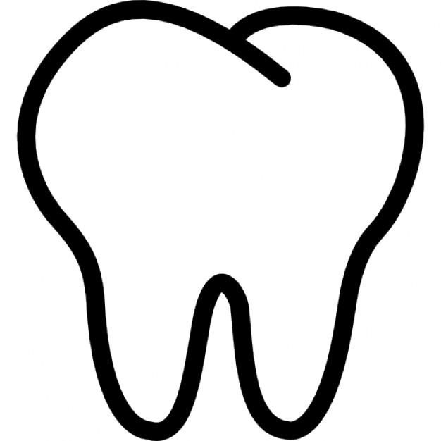 Tooth white. Free png teeth transparent