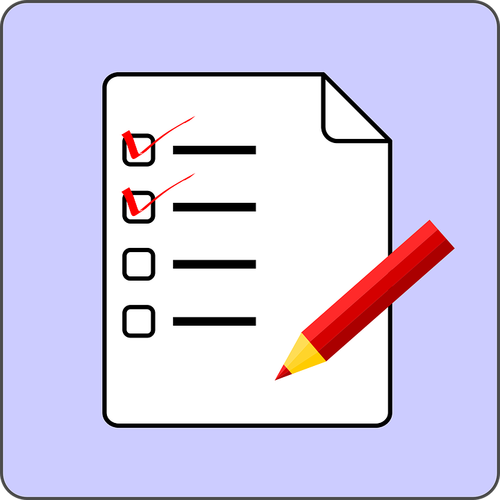 Check List, List, Exam, Test, Check Mark, Tick - Free PNG Test