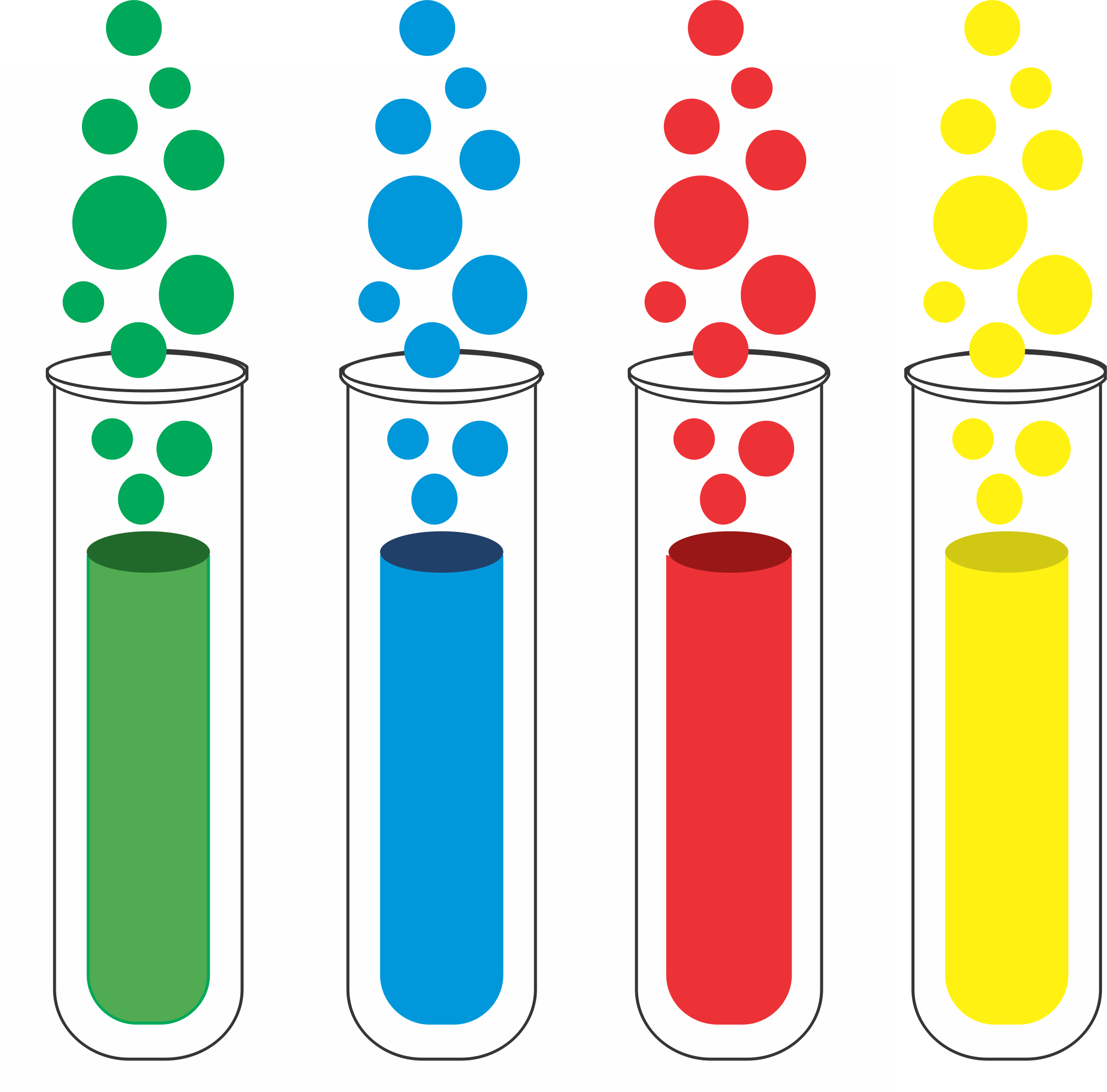 Test Tube Clipart Black And White Clipart Free Clipart - Free PNG Test