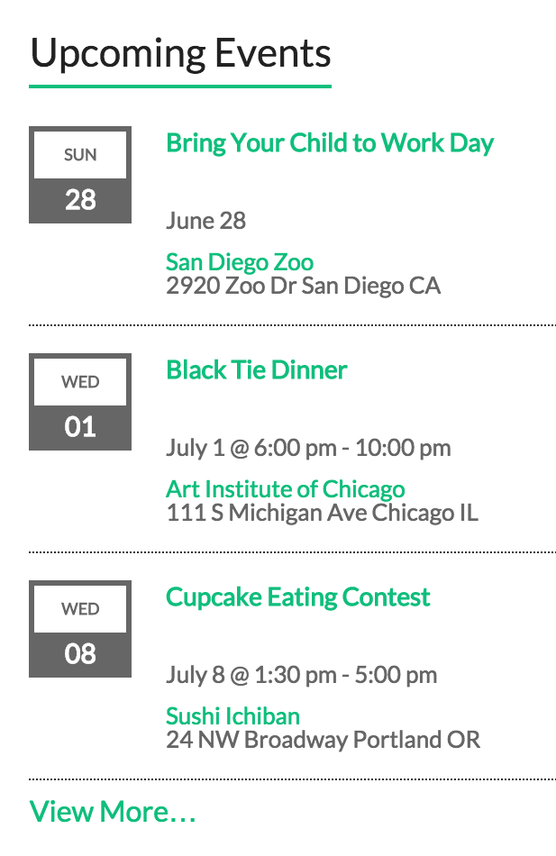 The PRO Upcoming Events widget is a more robust take on the basic Upcoming  Events widget that comes bundled with the free The Events Calendar. - Free PNG Upcoming Events