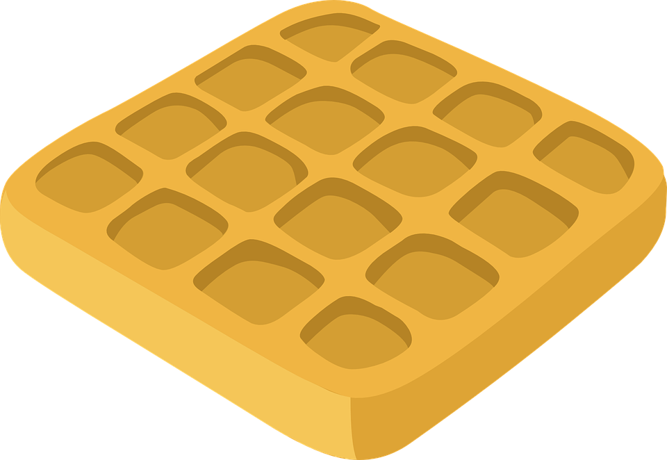 Free vector graphic: Waffle, Belgian, Breakfast, Food - Free Image on  Pixabay - 576882 - Free PNG Waffles