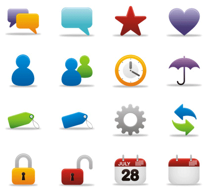 40 Free and Useful GUI Icon Sets for Web Designers - Free PNG Website