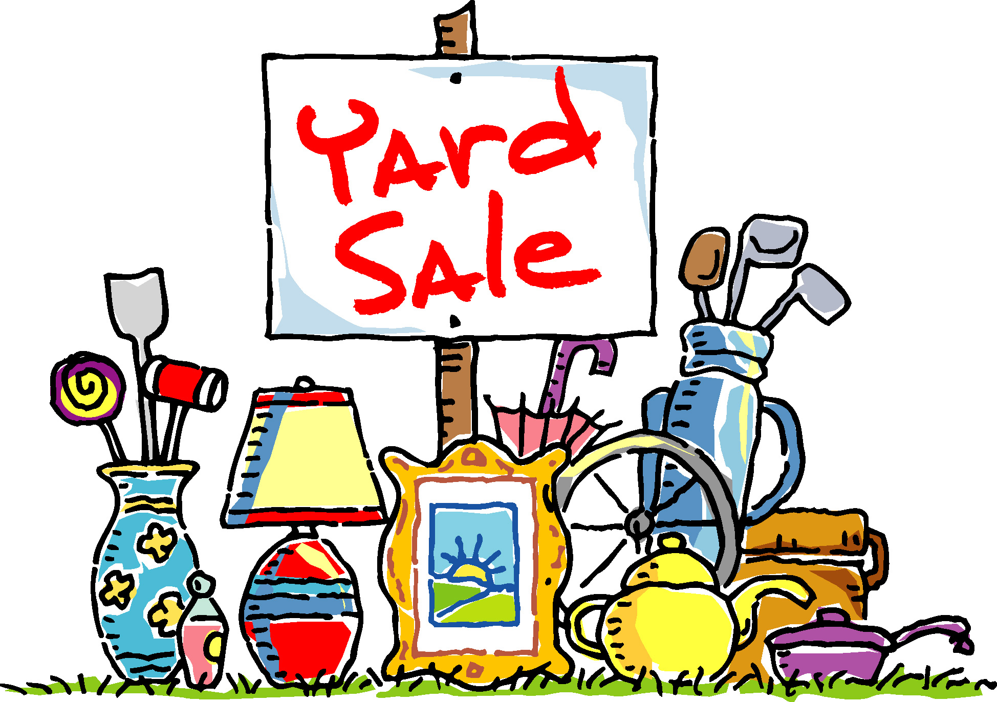 Free PNG Yard Sale Sign - 40687