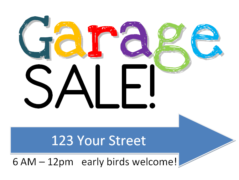 Free PNG Yard Sale Sign - 40676