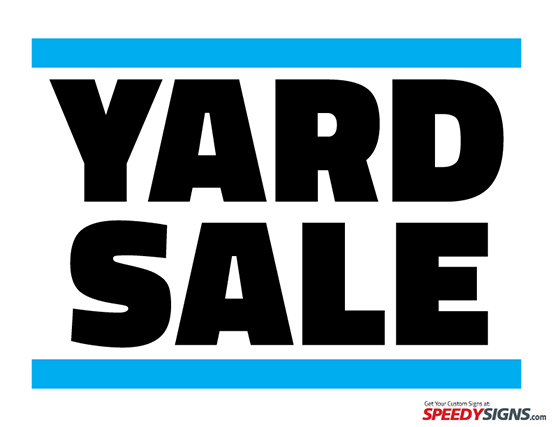 Free PNG Yard Sale Sign - 40674