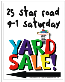 Free PNG Yard Sale Sign - 40683