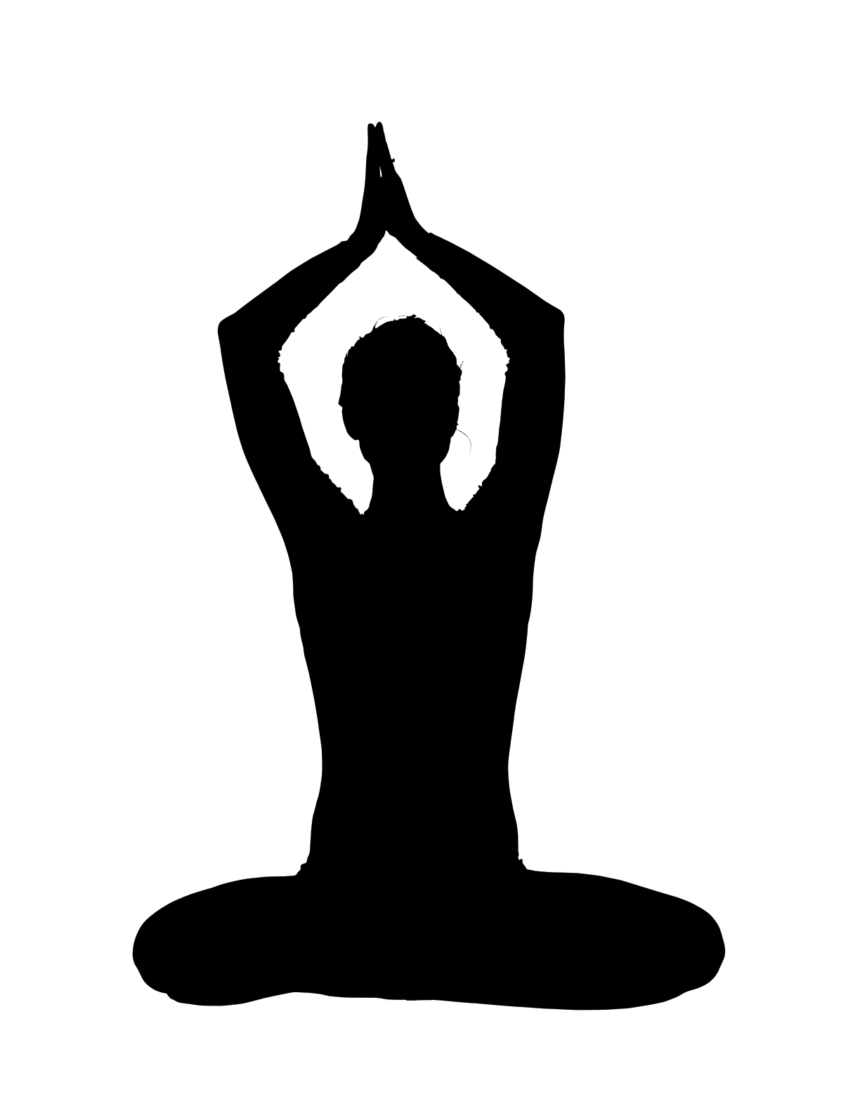 File:Silhouette yoga.png - Free PNG Yoga
