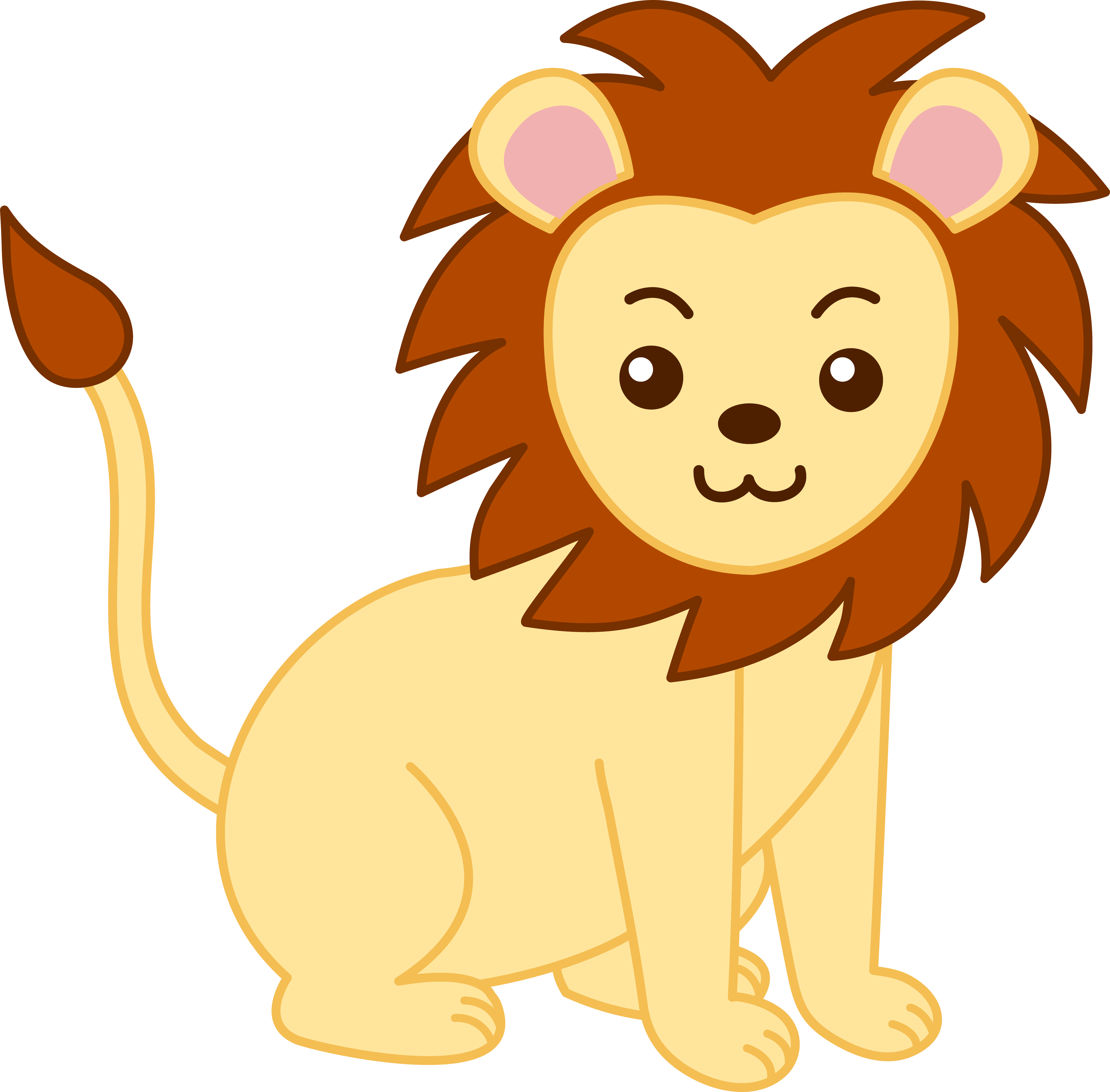 Cute Zoo Animals Clipart | Clipart library - Free Clipart Images - Free PNG Zoo Animals