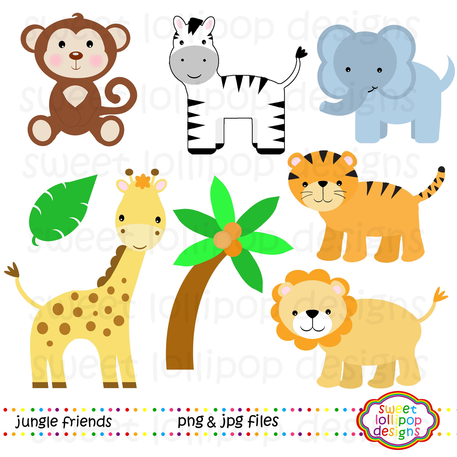 pin Cute clipart zoo animal #11 - Free PNG Zoo Animals