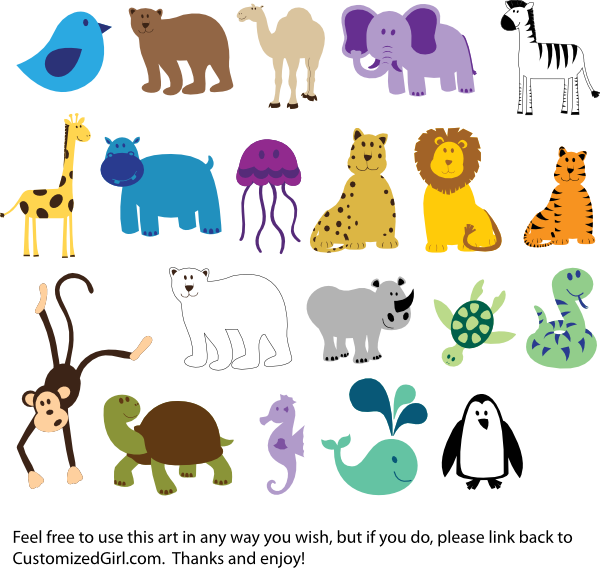 pin Zoo clipart zoo animal #12 - Free PNG Zoo Animals