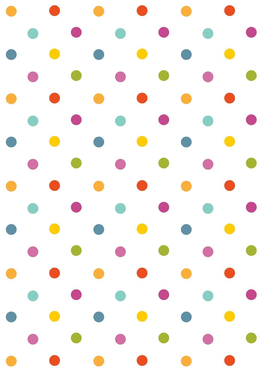 Free Polka Dot Background PNG - 153094