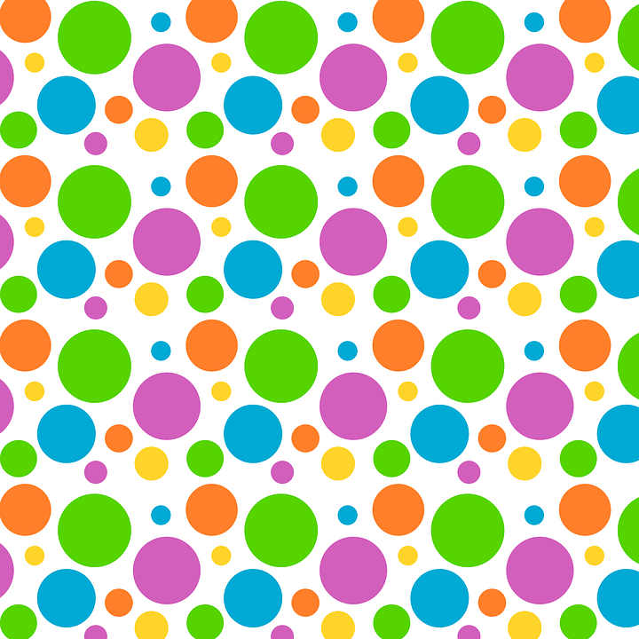 Free Polka Dot Background PNG - 153096