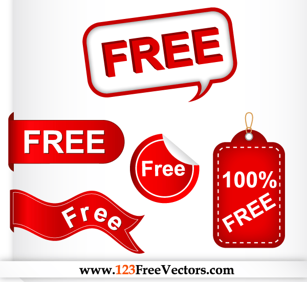 . PlusPng.com Tag Free Vector Set Preview - Free Tag PNG