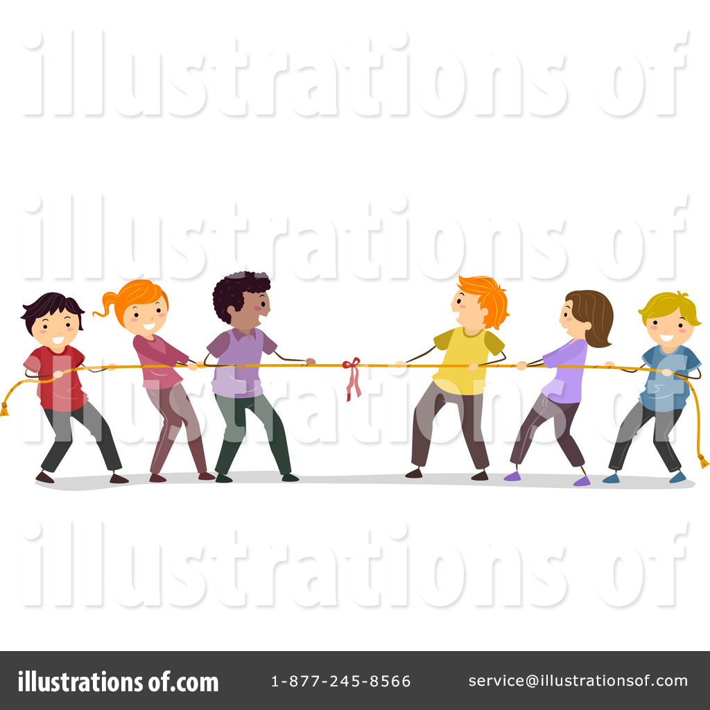 Royalty-Free (RF) Tug Of War Clipart Illustration #1182270 by BNP Design  Studio - Free Tug Of War PNG