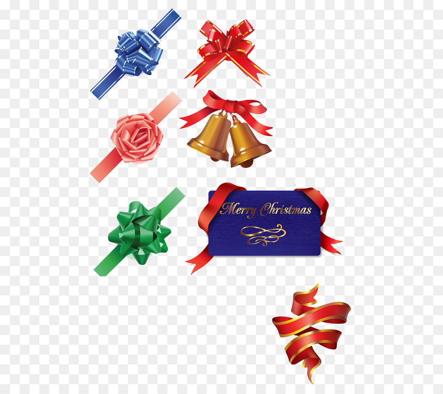 Christmas Ornament Clip art - Western holiday decorations bow - Free Western Holiday PNG
