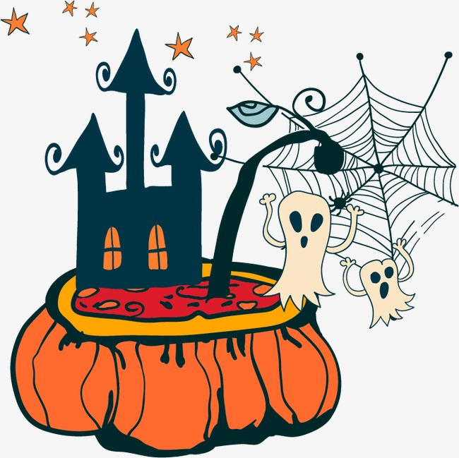 Halloween design elements, Western Holiday Halloween Halloween HALLOWEEN  West, Halloween Vector, Design Vector Free PNG and Vector - Free Western Holiday PNG