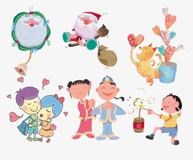 Holiday collection of Western and Eastern, West, East, Festival PNG Image  and Clipart - Free Western Holiday PNG
