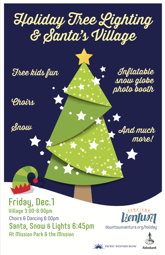 Holiday Events in Downtown! - Free Western Holiday PNG