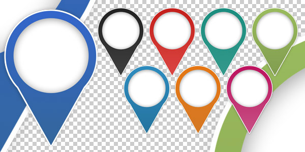 FREE Map Marker Icons - Freemap PNG