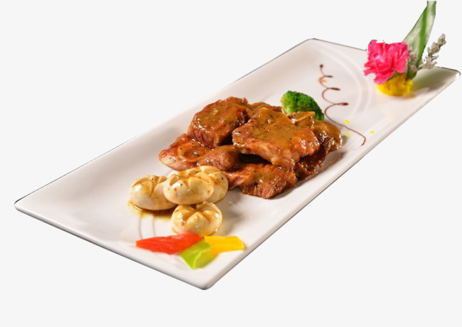French Pepper Steak, French Cuisine, Food, Dishes Free PNG Image - French Cuisine PNG