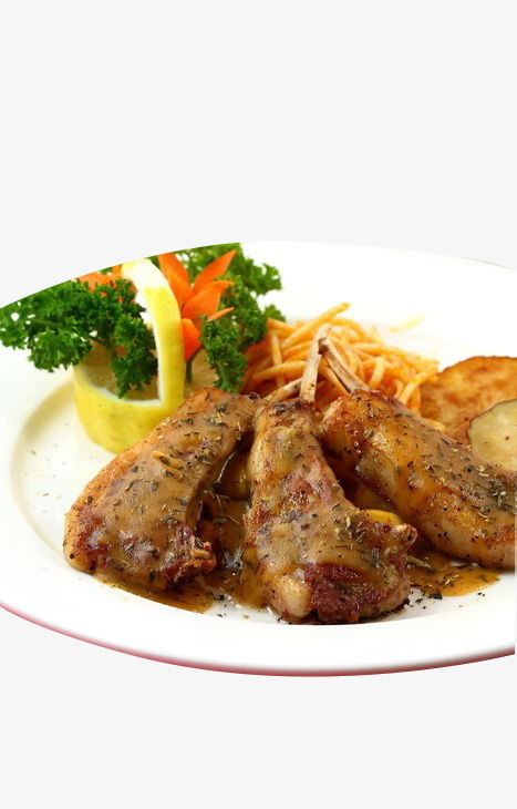 French Vanilla Baked lamb, French Cuisine, Delicious, Food Free PNG Image - French Cuisine PNG