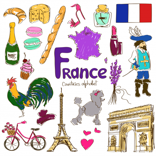 French Culture PNG - 132949