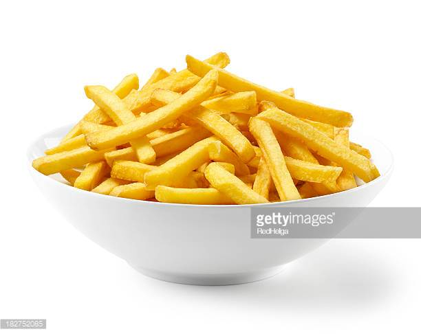 French Fries in bowl - French Fries PNG HD