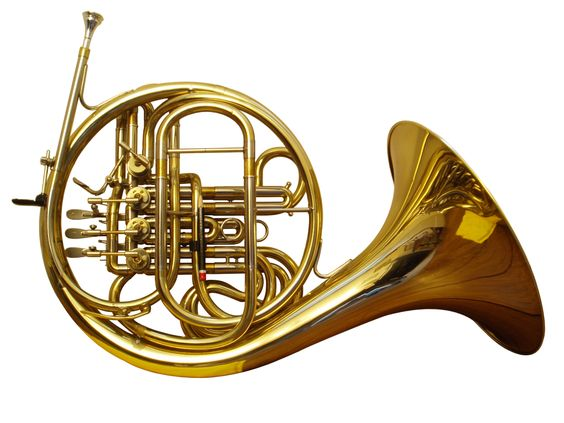 French Horn PNG HD