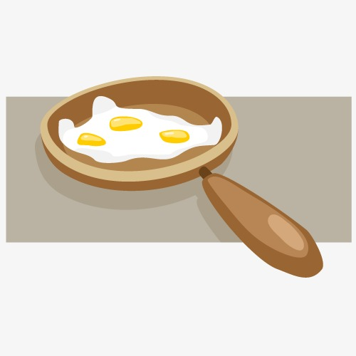 Vector fried egg, HD, Vector, Saucepan Free PNG and Vector - Fried Egg PNG HD