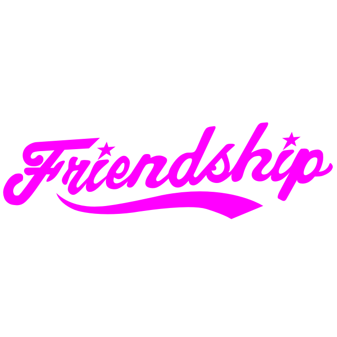 Friendship text by M3lva PlusPng.com  - Friendship PNG HD