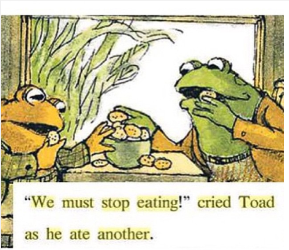 cried Toad as he ate another. - Frog And Toad PNG